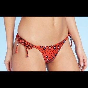 NWT Xhiliration Bikini Bottom Animal Print